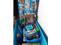 Huge lego bundle, lego city, minecraft etc.