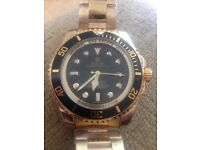 Gold Luxary GMT watch