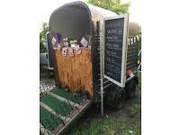 Beautifull classic Horse trailer coming conversion/catering trailer/bar/coffee