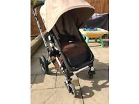 Bugaboo Chameleon 2 with parasol and footmuff