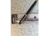 Cross Rollerball pen.
