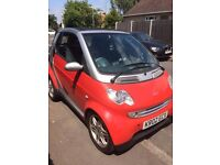 SMART CITY CABRIOLET/CONVERTIBLE 599CC, 8 Months MOT