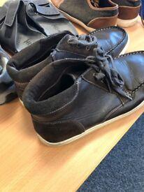 Various men's shoes
