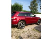 Jeep Grand Cherokee Limited 3.0, 2013 Automatic. 29,000 full black leather interior, sat nav,