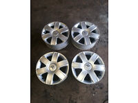 "Citroen C4 16"" Alloy Wheels With Brand New Tyres 205/55/16"