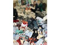 HUGE BUNDLE of BABY BOY clothing and extras 100+ items