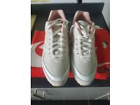 Nike Air Max Classics trainers. Tan and orange. Never worn. Size 8.5