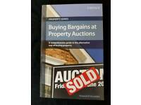 BUYING BARGAINS AT PROPERTY AUCTIONS BY HOWARD R GOODIE - BRAND NEW