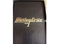 MOTLEY CRUE - MUSIC TO CRASH YOUR CAR TO CD BOX SET in EXCEPTIONAL CONDITION plus 2 other cds