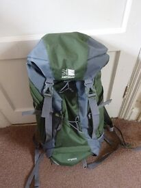 Excellent Condition Karrimor Airspace Rucksack Ideal for Camping Trips hiking equipment Only £20