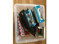 BOX OF 1960's /70's SCALEXTRIC FOR SPARES AND REPAIRS
