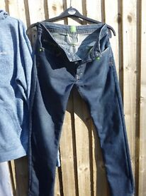 """Hugo Boss-Green Lable Straight Jeans-Size32""""wx32-£10"""