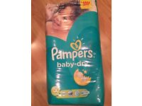 Pampers Nappies Size 5 Brand New Sealed