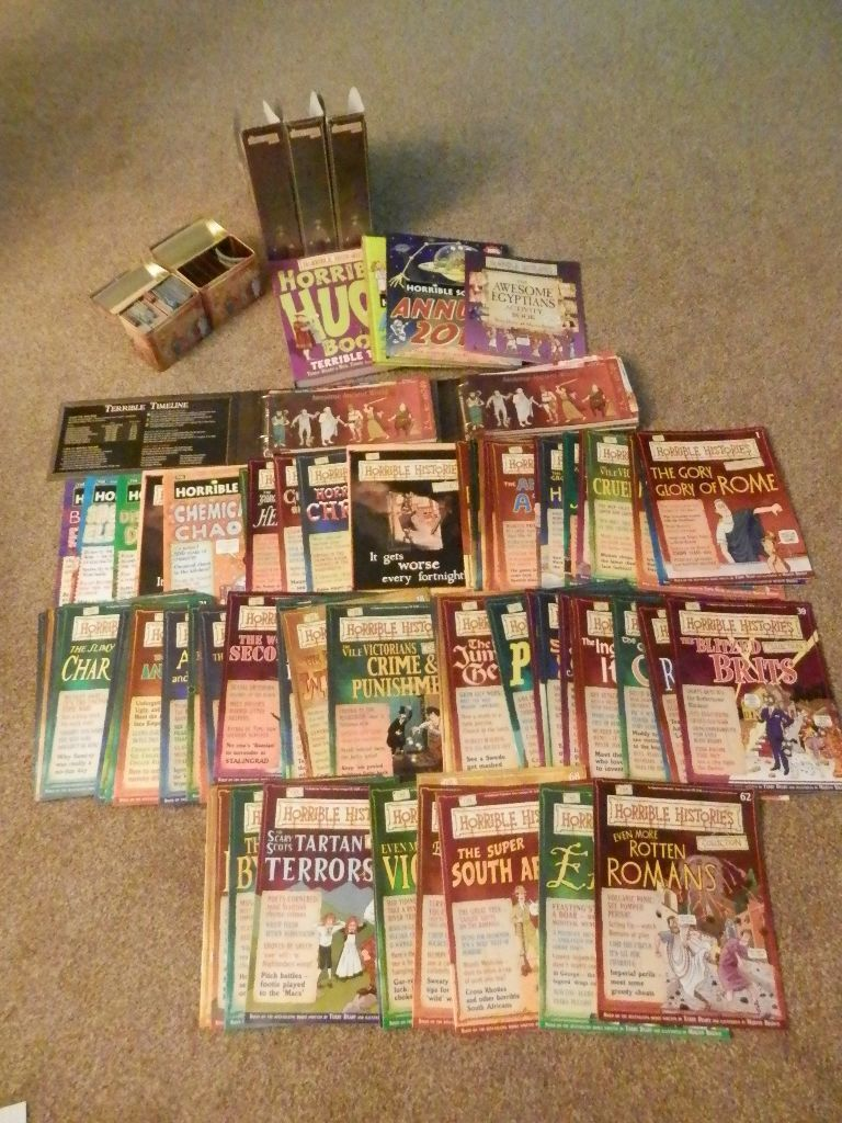 Magazines Collection Fashion Nails 4 Et 5: The Horrible Histories Magazine Card Collection Books Tins