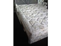 nice clean double divan bed with 4 draws pick up hull no head board