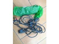 Xbox 360 power and AV cable