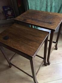 Antique nest tables