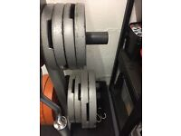 110kg of Olympic Weight Plates