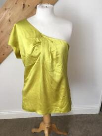 Ted baker yellow top 4 BNWT