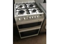 White gas cooker 60cm...Cheap free delivery