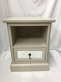 Lauren Lamp Table With Mirrored Drawer Front - RRP:£99 SALE SALE