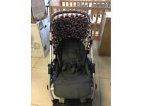 Brand New Mamas and Papas Pixo Red spot Pushchair Package.
