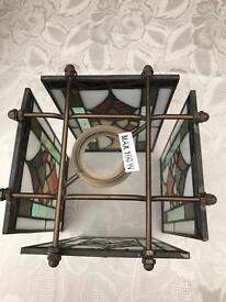 Stained Glass Lightshades x 3