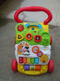 Vtech activity and baby walker