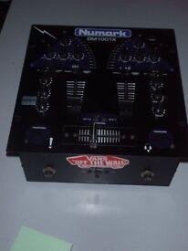 NUMARK DM1001X 2 CHANNEL DJ PRE-AMP MIXER