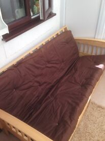 Sturdy Double Sofa Bed (Futon) FOR SALE (REDUCED)