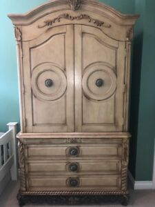 Large Armoire Antique style wardrobe