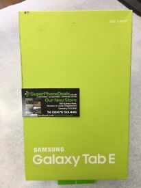 "SAMSUNG GALAXY TAB E 9.6"" 8GB (METALLIC BLACK) - WIFI - BRAND NEW"