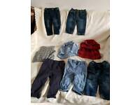 Baby boy clothes bundle 3-6m and 6 to 9m