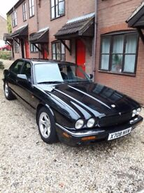Jaguar XJ8 black with black leather full clean MOT much work done great car