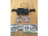 Ps3 including Fifa 16 13 14 15 plus more 2 controllers! Excellent condition