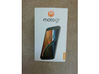 Moto G4 Brand new , never been used .