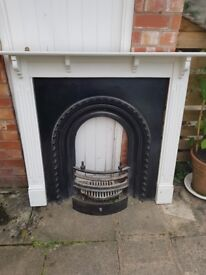 Reproduction Victorian Cast Iron Fire Surround