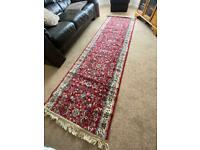 Vintage red Oriental Persian Runner Rug - 80x275cm - good quality
