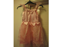 PINK FAIRY DRESS Age 3-4 - GORGEOUS CONDITION - really pretty! Great for Christmas surprise gift!