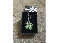 Costume Jewellery. 4 Leaf Clover Necklace.