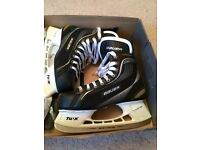 Bauer Supreme Ice Skates. Used only once, like new. UK Size 9.5.