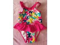 Girls swimming costume size 9-12 months