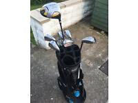 Wilkinson Golf Clubs & Masters Bag