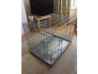 Sturdy Dog Crate 58cm (width) x 89 (length) x 64 (height)