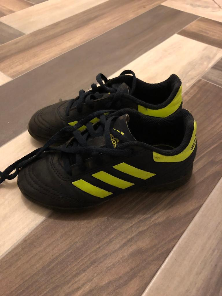 a2a4b8748e2a Adidas football boots Astro turf size 11 infant | in Bradford, West ...