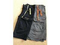 Men's Henley's button-fly shorts