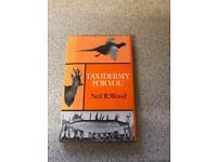 Taxidermy for you hardback book