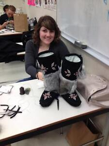 HOW TO MAKE MUKLUKS, MOCCASINS, MITTS ETC. FOR FUN OR PROFIT Yellowknife Northwest Territories image 2