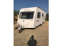 Bailey ranger with awning and motor mover