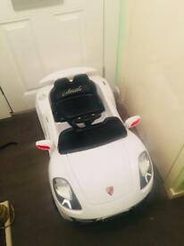 Kids electric car & charger
